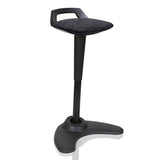 Spry Perching Stool (Black or Grey frame options)