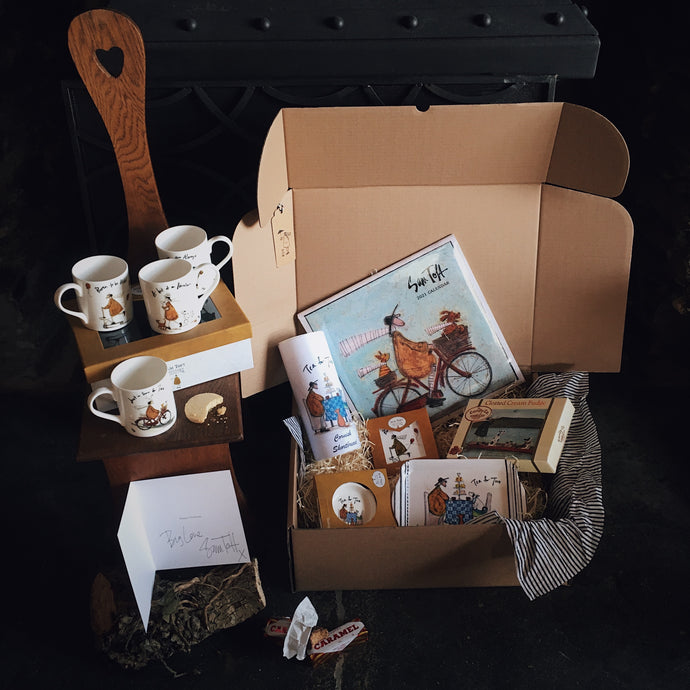 TEA TIME HAMPER in BOX