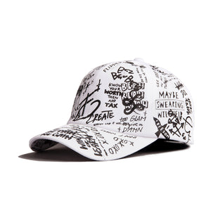 4Sketch Cap | White