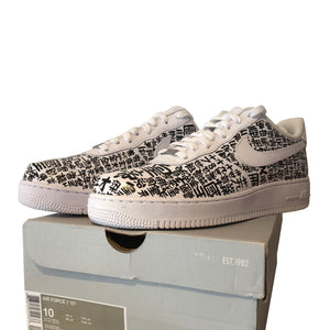 EXCLUSIVE one of a kind, custom Nike Air Force 1's