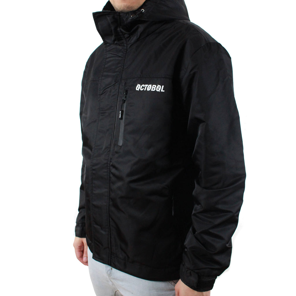 Octo Gambol CS-Waterproof Windbreaker WB-01 | Black
