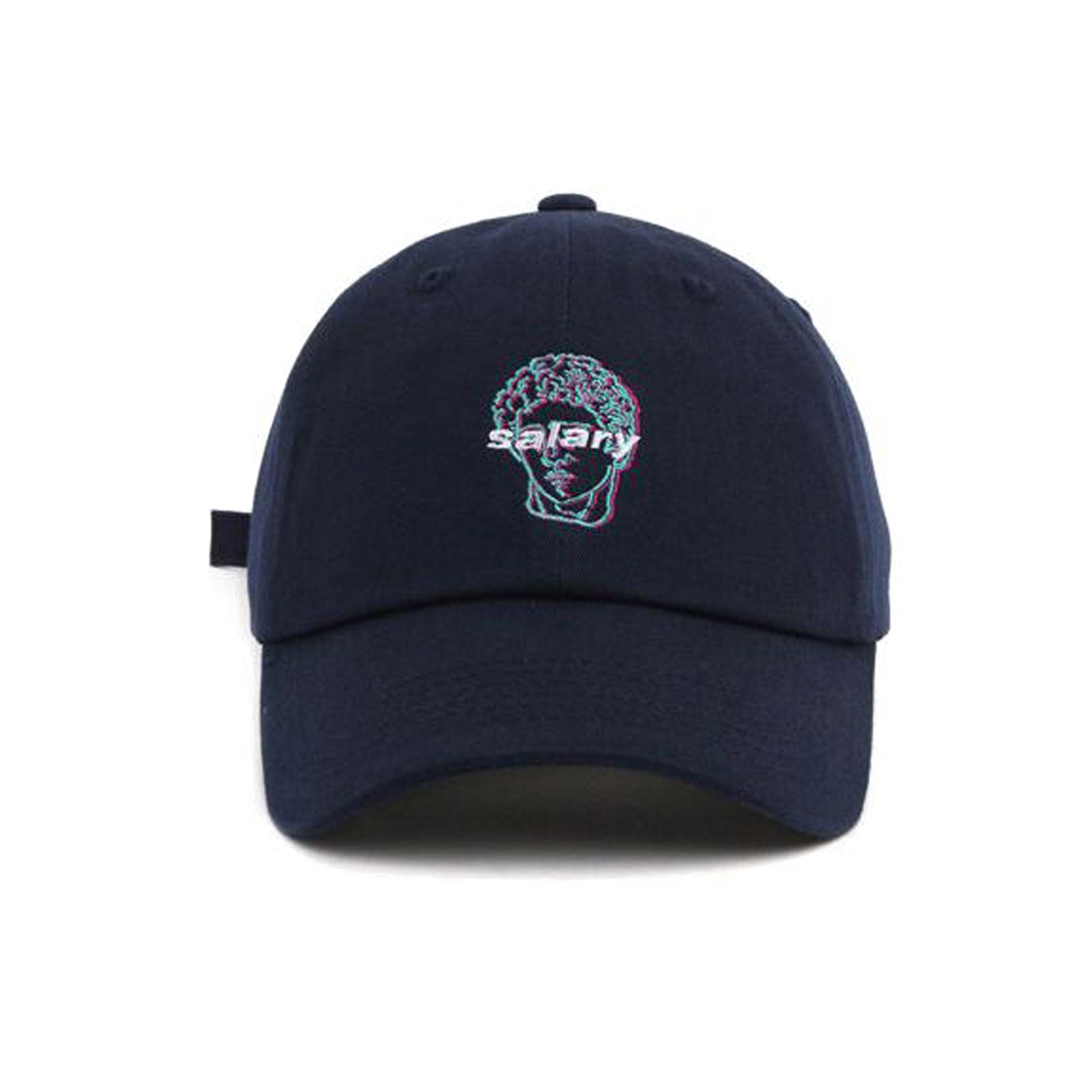 Vaporwave Salary Man Cap | Navy
