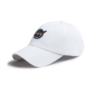 Nasa Canvas Cap | White