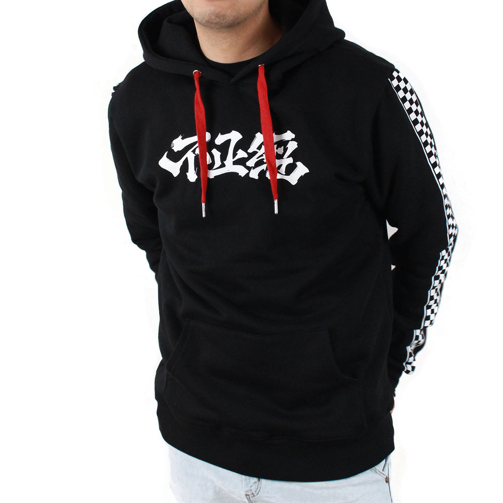 Classic Fit Unserious 不正經 Hoodie | Black