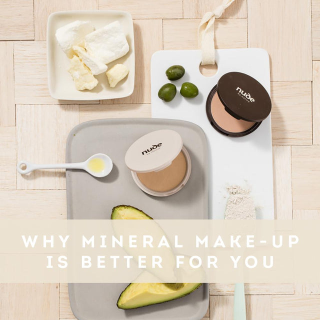 Why Mineral Make-Up is Better For You