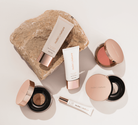 Cruelty-free natural make-up collection