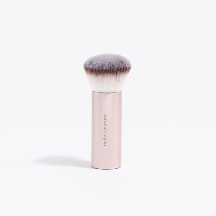Rose Gold Long Kabuki Brush