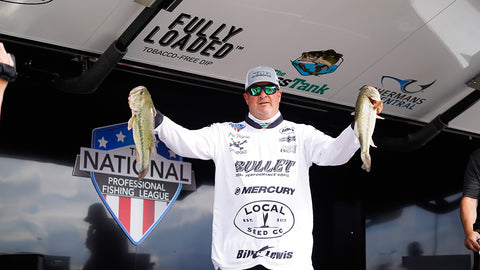 National Professional Fishing League weigh in