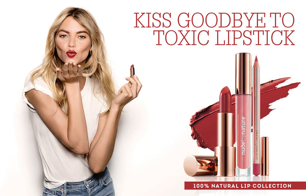 Kiss Goodbye To Toxic Lipstick
