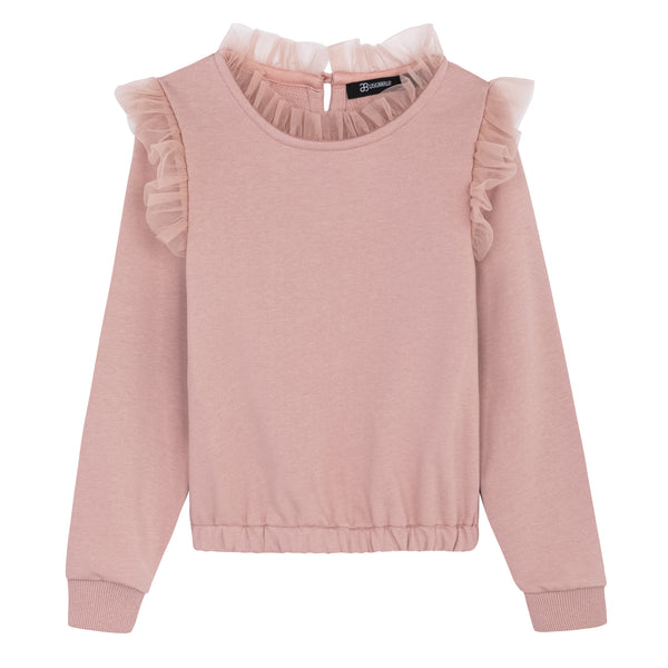 TULLE TOP PINK