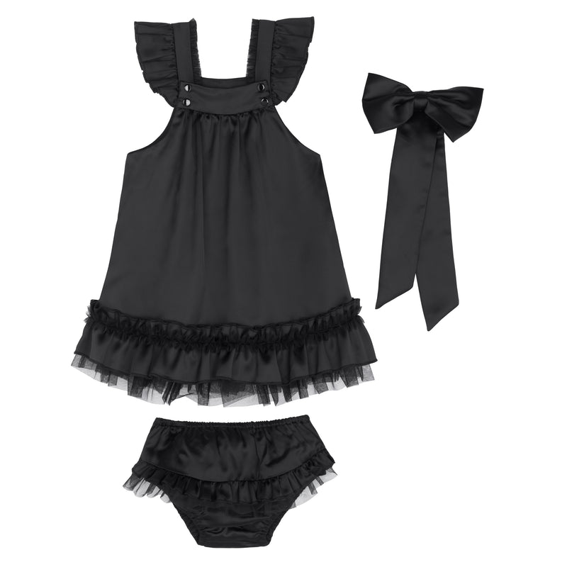 BLACK ANTONELLA DRESS