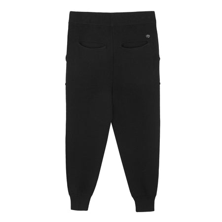 KNITTED JUMPER PANTS BLACK