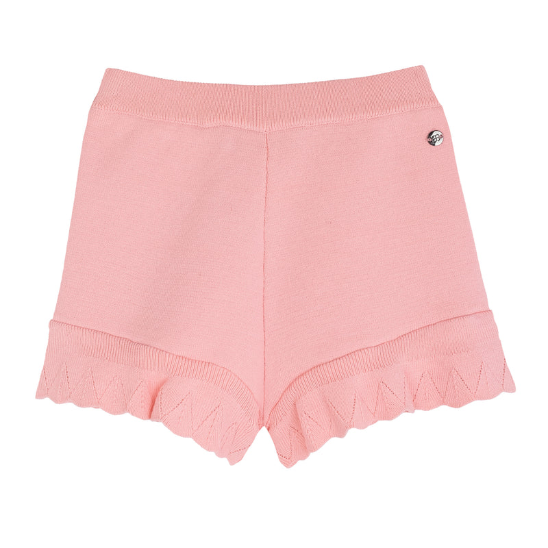 Knitted Pants Peach