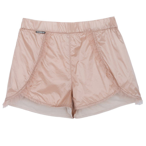 NYLON SHORTS PEACH