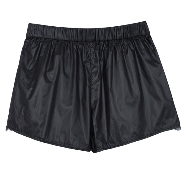 SHORTS EN NYLON NOIR