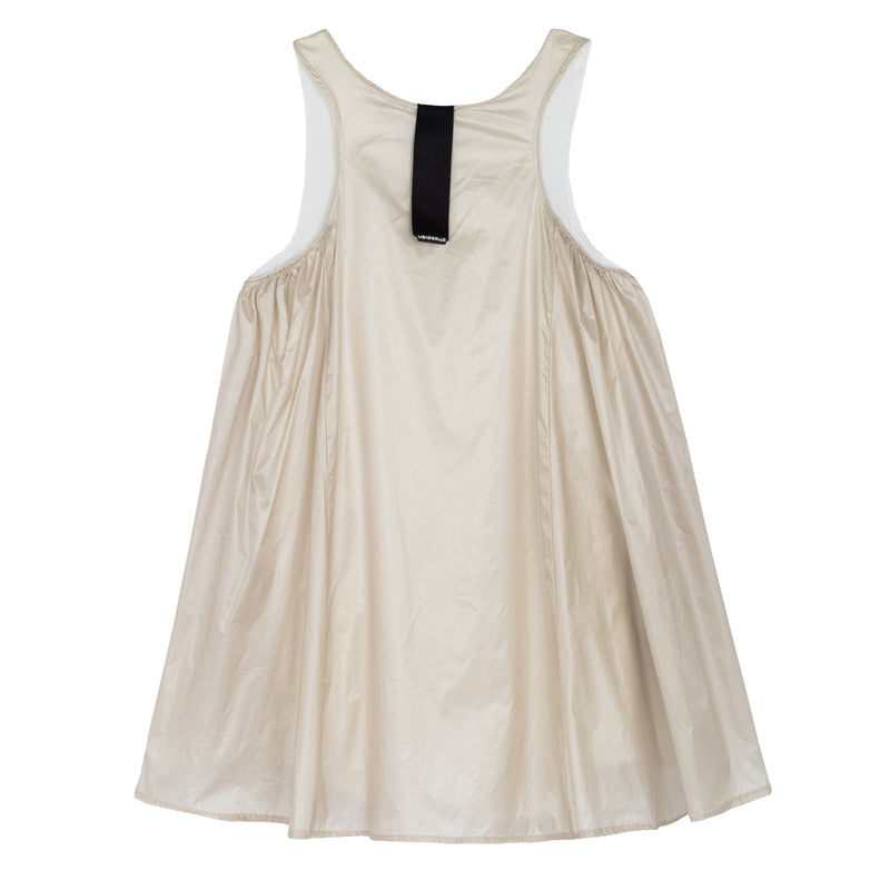 NYLON SUMMER DRESS SAND