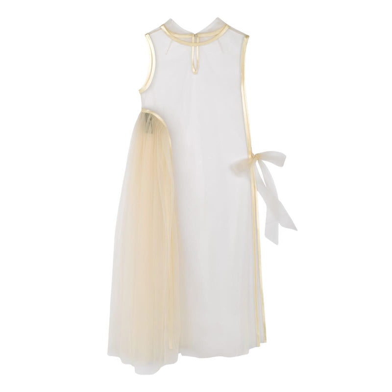 MOR DRESS OFF WHITE