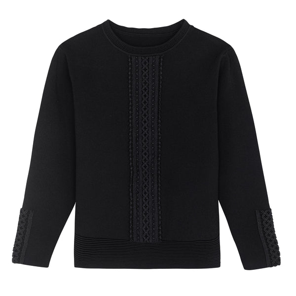 KNITTED TOP SOLIDE