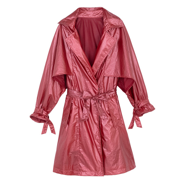 NYLON CAPE JACKET RED