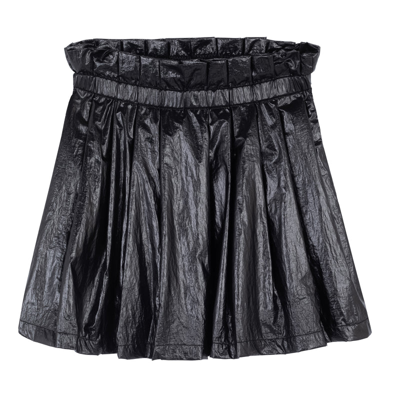 NYLON SKIRT BLACK