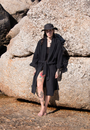 'Beau Beau Beach Club' Towel Gown