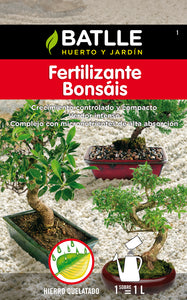 Fertilizante bonsáis soluble