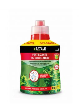 Fertilizante ecoyerba cogollador - botella 400ml