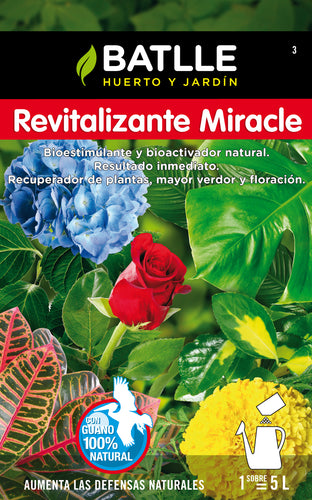 Fertilizante revitalizan miracle soluble