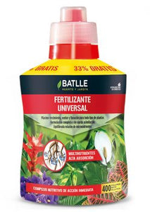 Fertilizante universal - botella 400ml