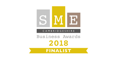 SME Cambridgeshire Business Award Finalist 2018