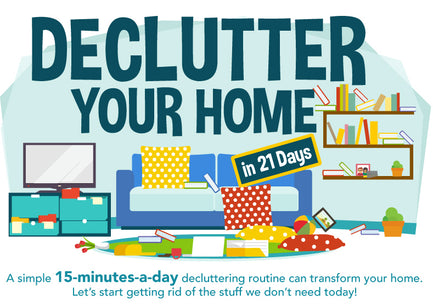 Declutter Your Home In 21 Days
