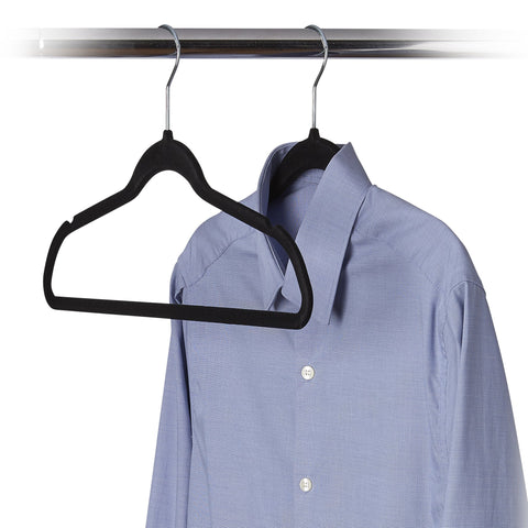 Set of 60 Ultra Slim Felt Clothes Hanger