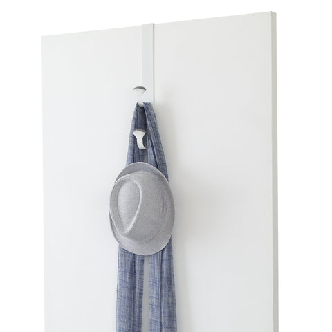 Linea Non-Slip Metal Over the Door Triple Hook