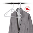 10 Pack Heavy-Duty Plastic Coat Hanger