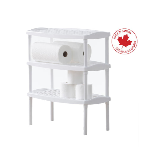 Stackable Multipurpose Plastic Shelf