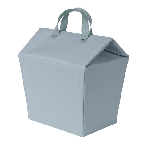 Easy-Open Lidded Laundry Tote