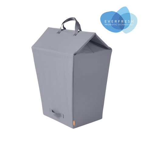 Easy-Open Lidded Laundry Hamper