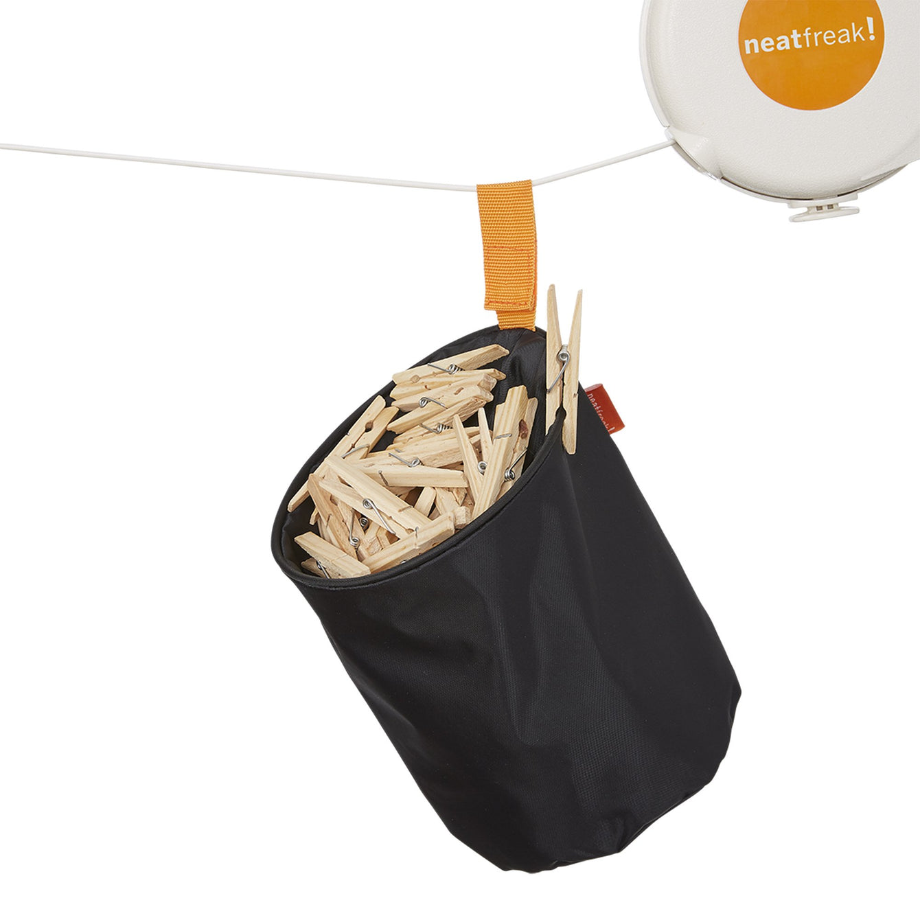 Pop Up Hanging Clothespin Bag