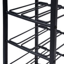 15 Bottle Metal Wine Rack w Quartz Top