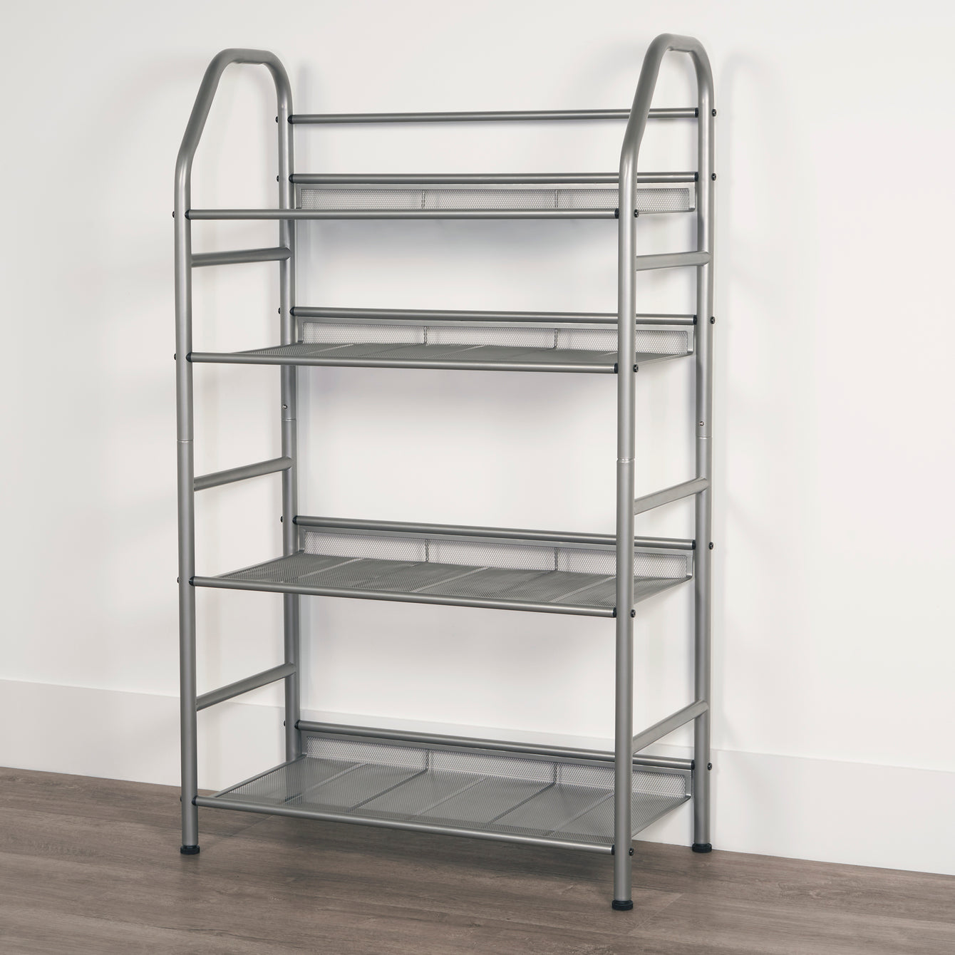 4 Tier Metal Home Storage Organizer with Bins