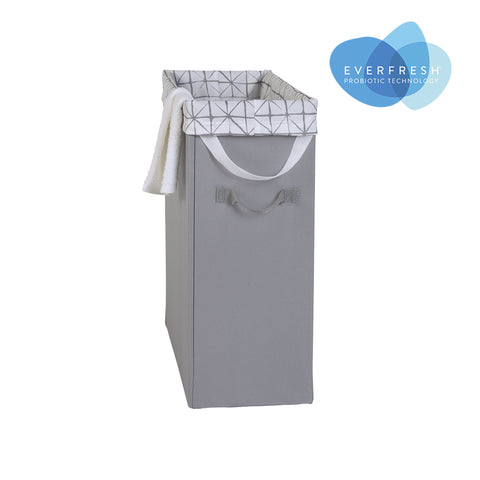 Slim Laundry Hamper w Removable Bag
