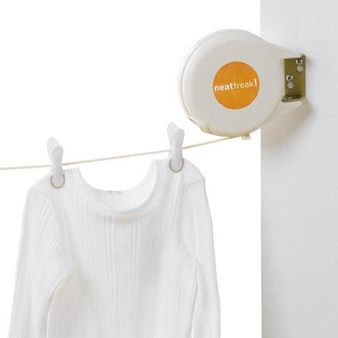 Retractable Outdoor/Indoor Clothesline