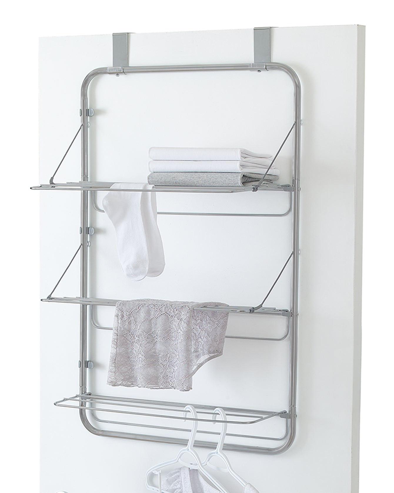 3 Tier Over the Door Drying Rack