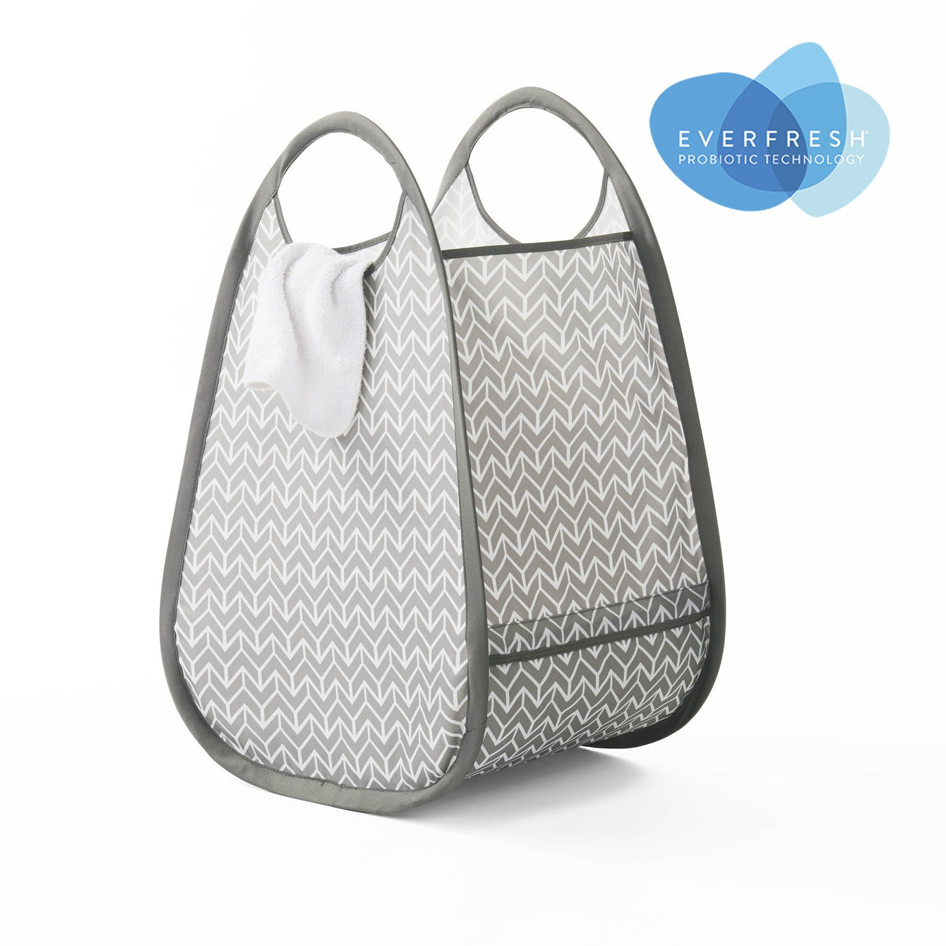 Pop-Up Fabric Laundry Tote