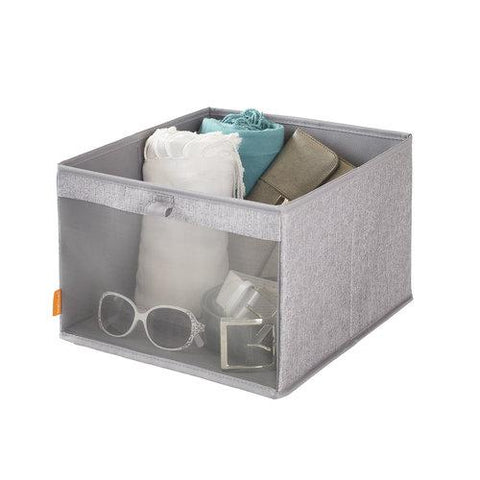 Set of 4 Bin Drawer w Mesh Front