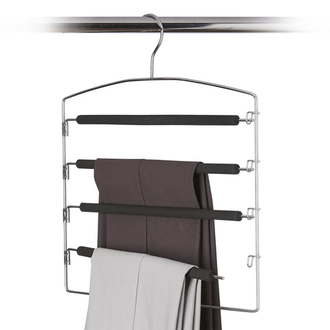Metal 4 Tier Pant Hanger