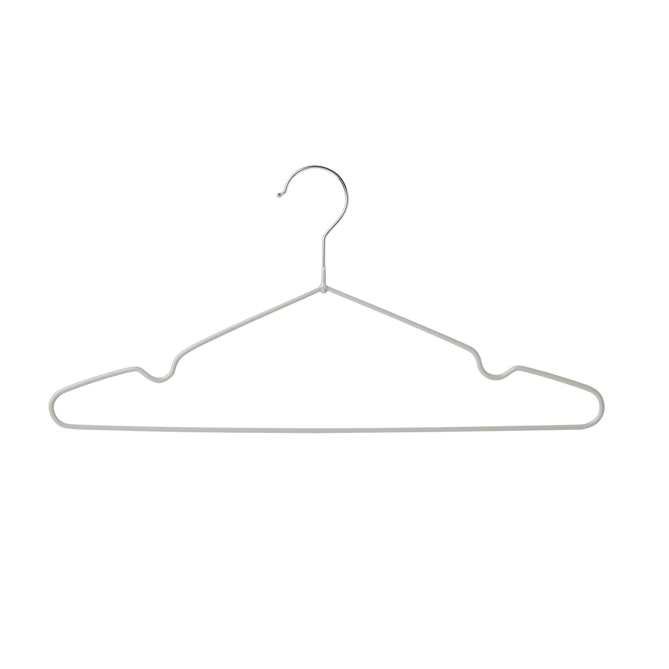 Set of 48 Non Slip Wire Clothes Hanger