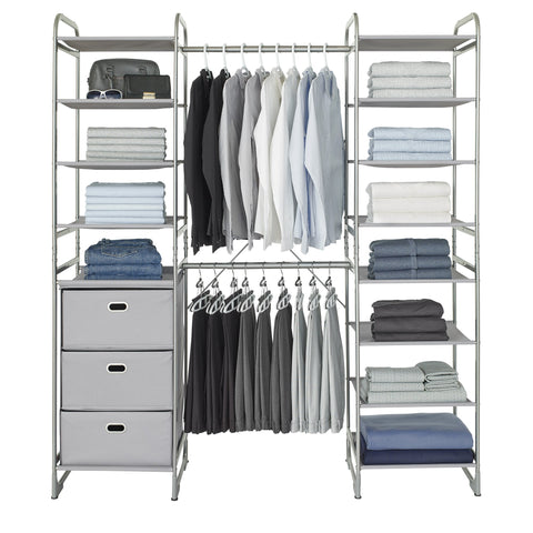 Expandable Versa Closet System Kit (Drawer and Shelf')