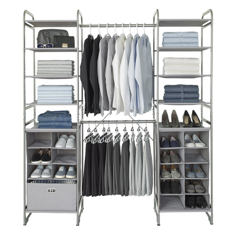Expandable Versa Closet System Kit (Cubby + Cubby)