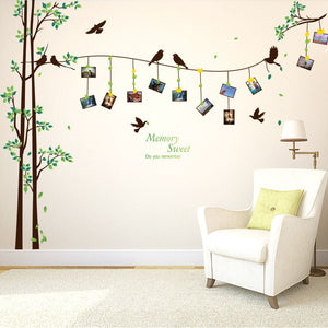 Large Tree Branch Photo Wall Sticker